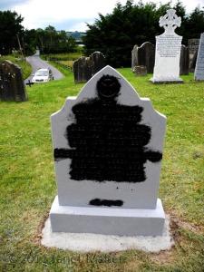 Darkened Thomas Maher Stone, Killinane