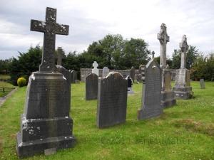 Killinane Graveyard, Maher Graves