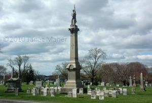 Civil War Graves, Saint Bernard Cemetery, New Haven, CT