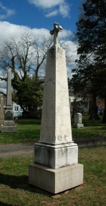 Colonel Cahill Tombstone