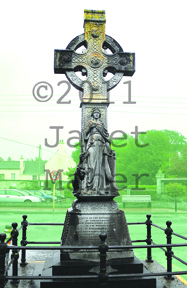 Our Lady of 1798, Monesterevin, Kildare, Ireland ©2011 Janet Maher (color is not accurate here)