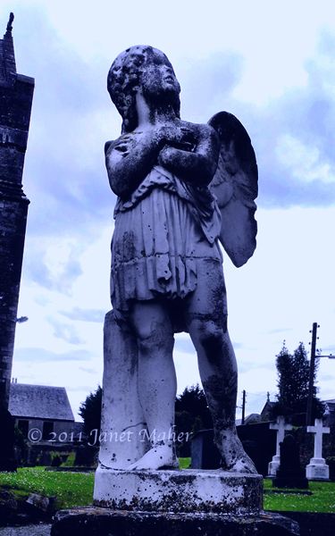 St. Canice Angel, Kilkenny, Ireland ©2011 Janet Maher