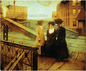 ©2010 Janet Maher, Three Women (including the author's gg grandmother)