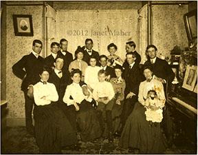 ©2012 Janet Maher, presumed Leary-Farren families, Naugatuck, CT