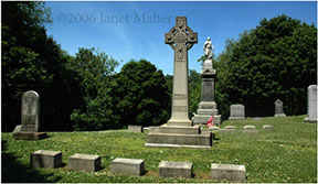 ©2006 Janet Maher, Maher-Martin graves, St. Francis Cemetery, Naugatuck, CT