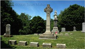 ©2006 Janet Maher, Maher-Martin graves, St. Francis Cemetery, Naugatuck, CT