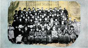 ©2010 Janet Maher, Woolen Mill, ca 1870s-80s, Naugatuck, CT