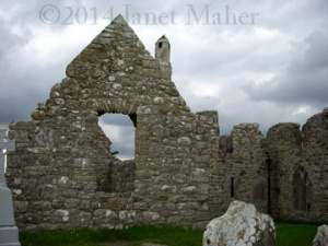 ©2014 Janet Maher, Clonmacnoise