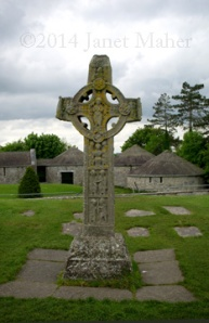 ©2014 Janet Maher, Clonmacnoise Cross