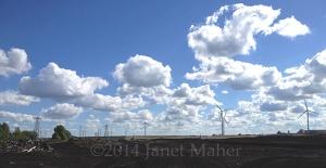 ©2014 Janet Maher, Monaincha Windfarm