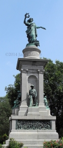 ©2014 Janet Maher, Waterbury Civil War Monument