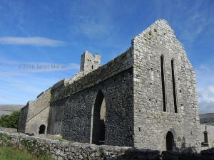 Corcomroe Abbey, Co. Clare, Ireland ©2016 Janet Maher