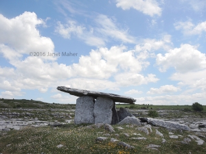 Poulnabrone Portal Tomb ©2016 Janet Maher