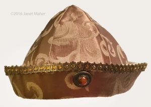©2016 Janet Maher, Ancient Meachair Chieftain Cap Interpretation